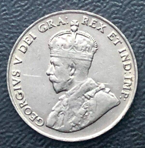 CANADA - 5 Cents 1922