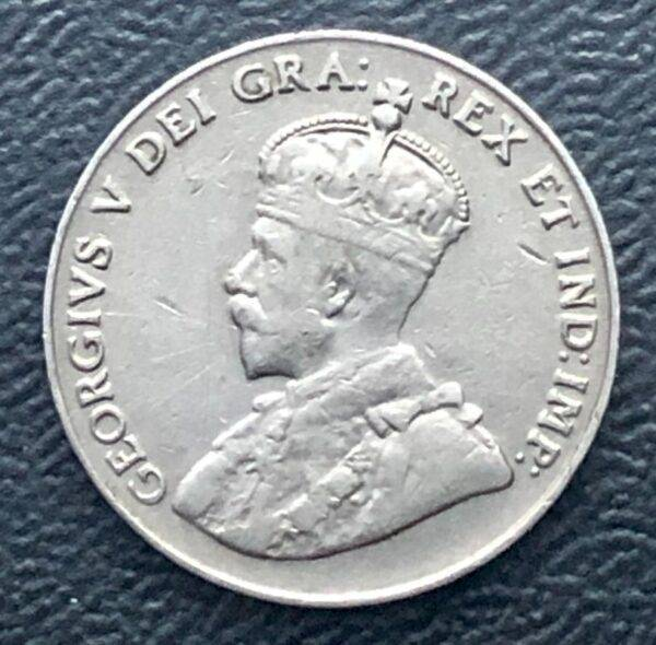 CANADA - 5 Cents 1927