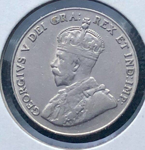 CANADA - 5 Cents 1929