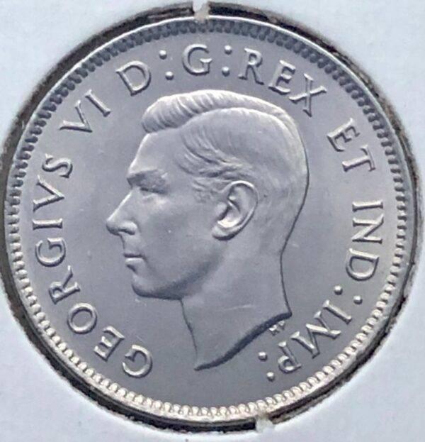 CANADA - 5 Cents 1937 DOT - B.UNC