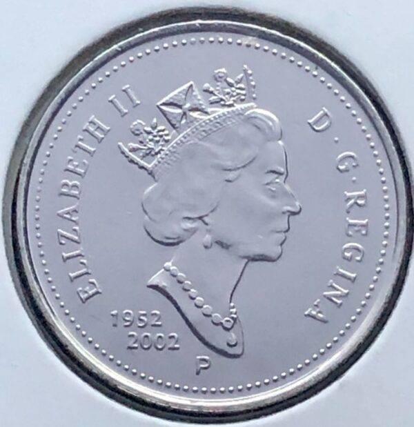 CANADA - 5 Cents 2002P - B.UNC