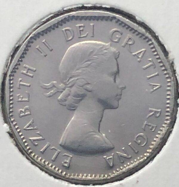 CANADA - 5 Cents 1955
