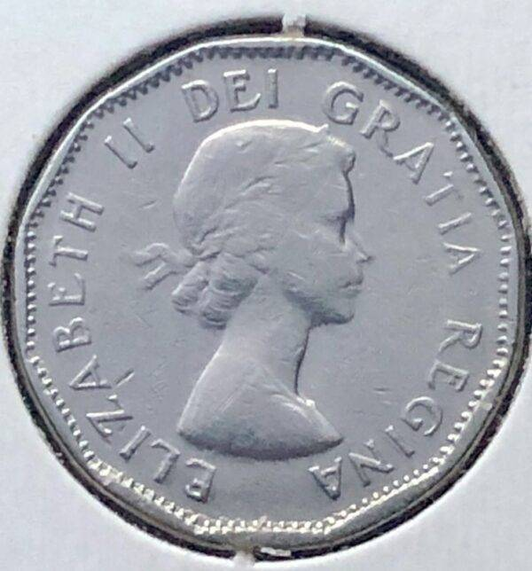 CANADA - 5 Cents 1956
