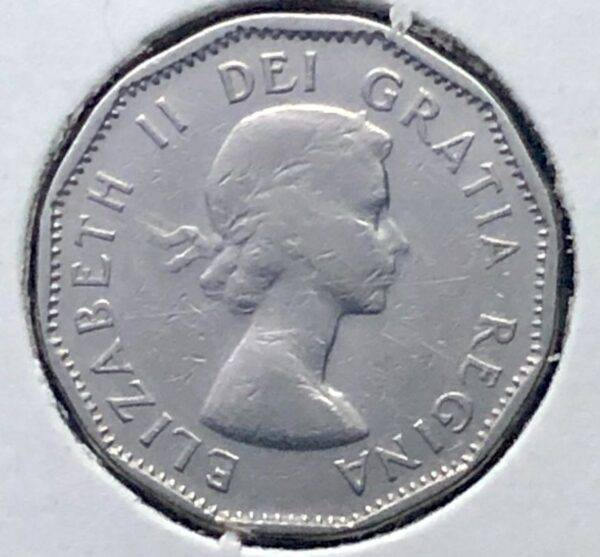 CANADA - 5 Cents 1958