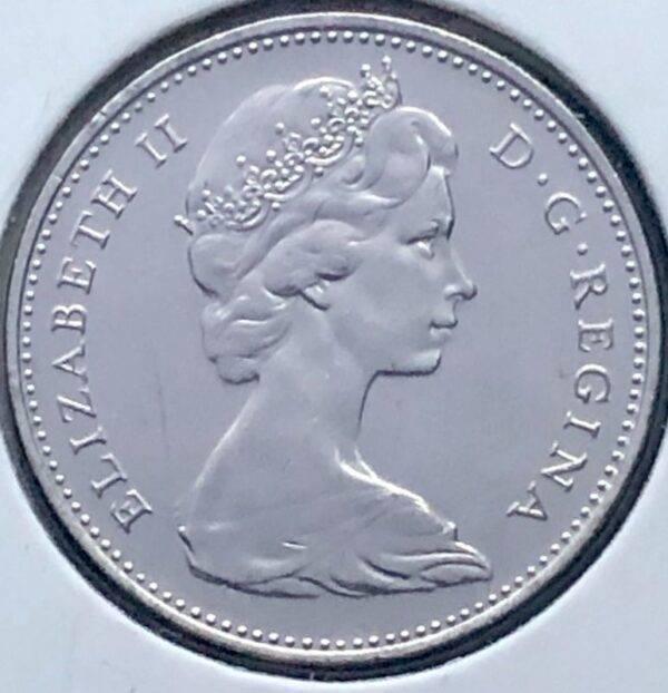 CANADA - 5 Cents 1968 - B.UNC