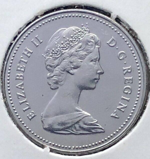 CANADA - 5 Cents 1981 - B.UNC