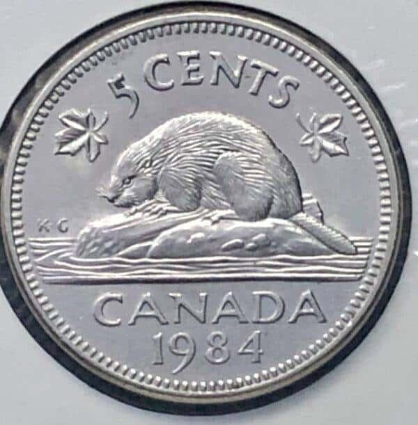 CANADA - 5 Cents 1984 - B.UNC