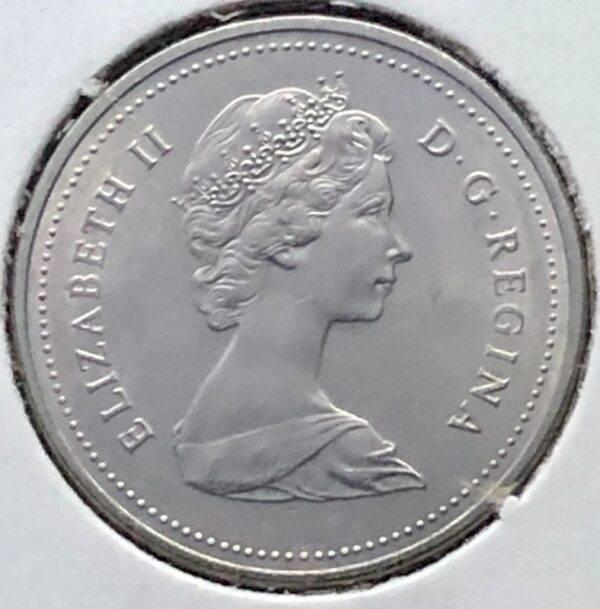 CANADA - 5 Cents 1986 - B.UNC