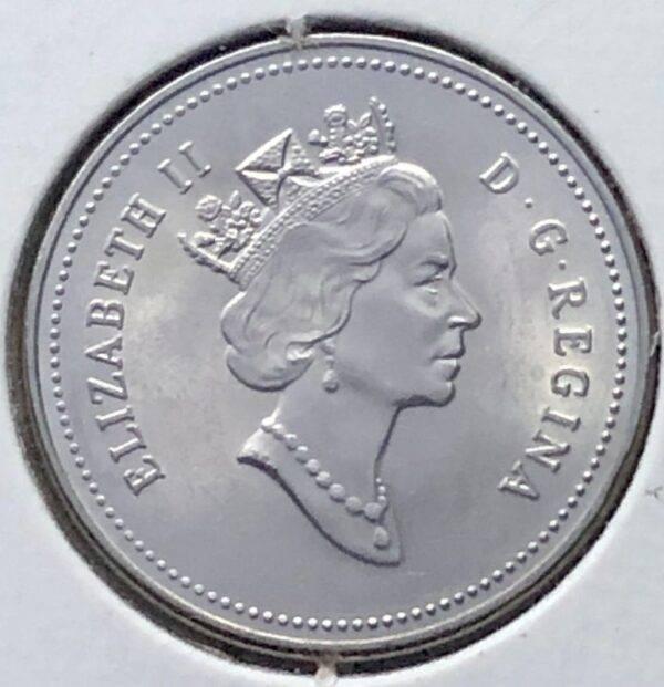 CANADA - 5 Cents 1990 - B.UNC
