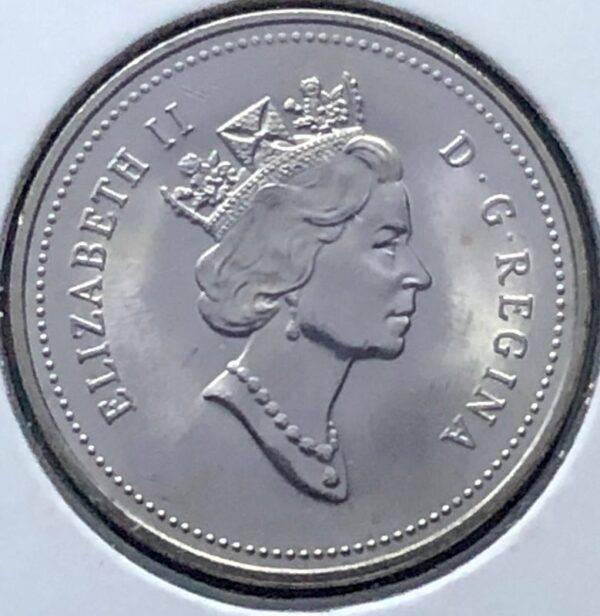 CANADA - 5 Cents 1991 - B.UNC