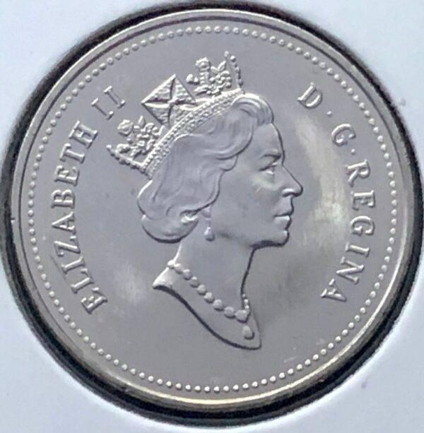 CANADA - 5 Cents 1992 - B.UNC