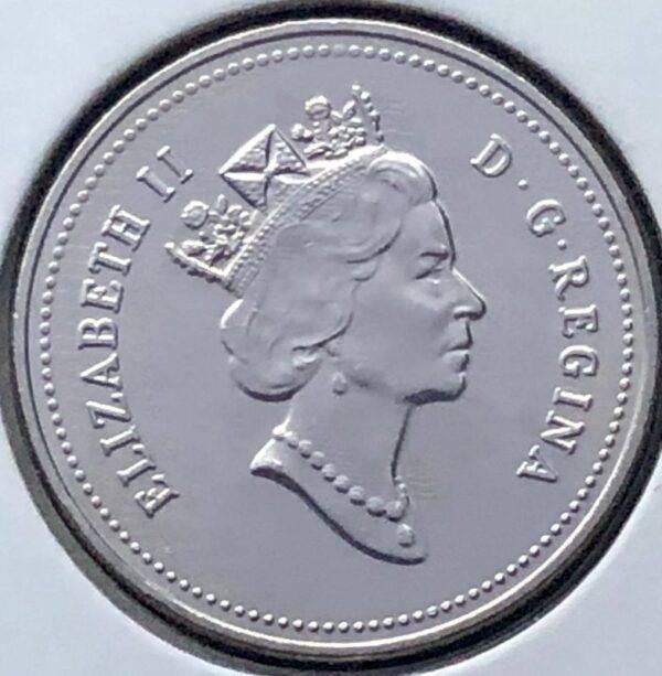 CANADA - 5 Cents 1993 - B.UNC