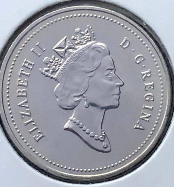 CANADA - 5 Cents 1995 - B.UNC