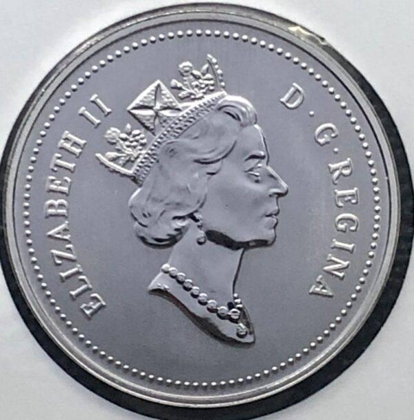 CANADA - 5 Cents 1996 - 6 près - B.UNC