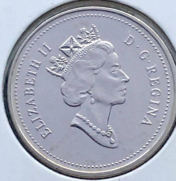 CANADA - 5 Cents 2000 - B.UNC