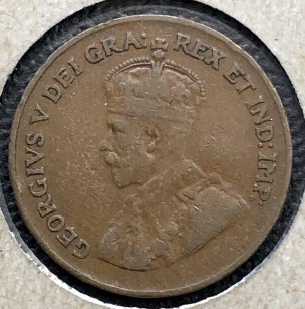 CANADA - 1 Cent 1923
