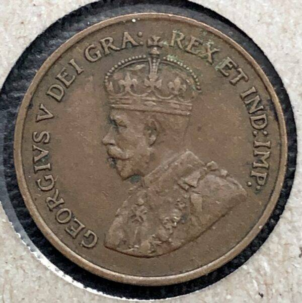 CANADA - 1 Cent 1925 - KEYDATE