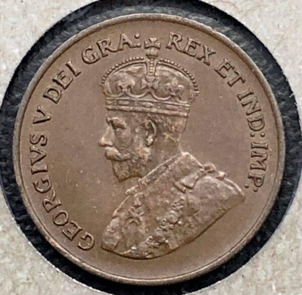 CANADA - 1 Cent 1928