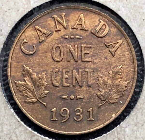 CANADA - 1 Cent 1931