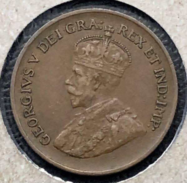 CANADA - 1 Cent 1933