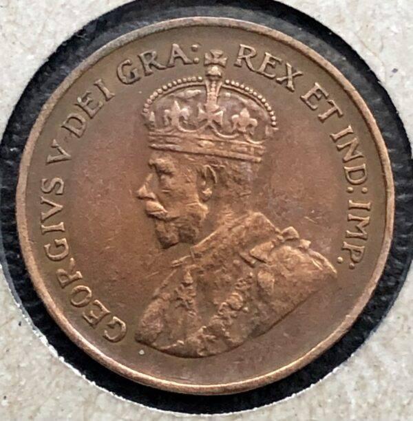 CANADA - 1 Cent 1934