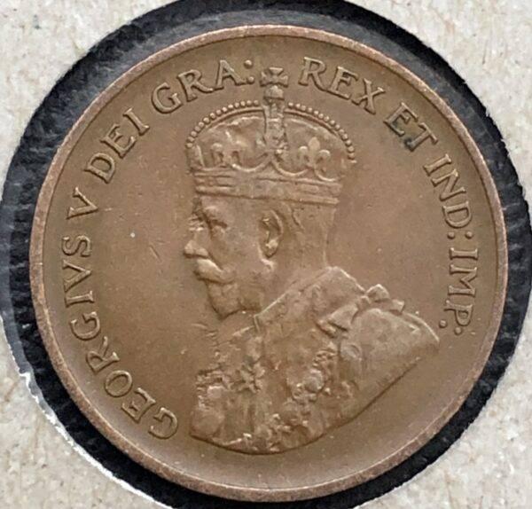 CANADA - 1 Cent 1935
