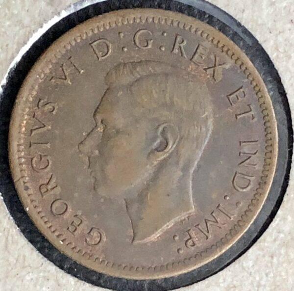 CANADA - 1 Cent 1938