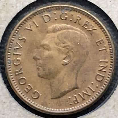 CANADA - 1 Cent 1939