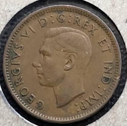 CANADA - 1 Cent 1941