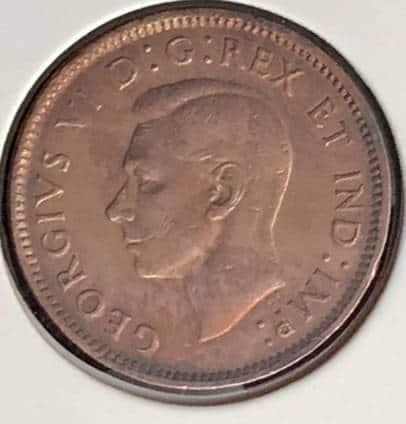 CANADA - 1 Cent 1943