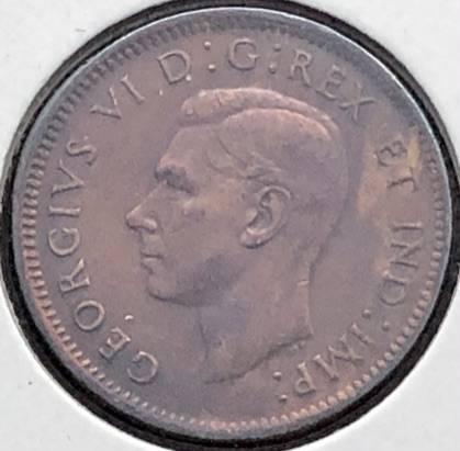 CANADA - 1 Cent 1944