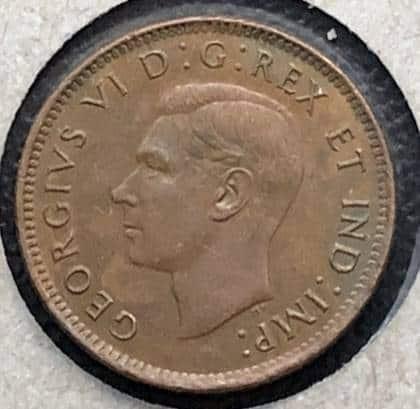 CANADA - 1 Cent 1946