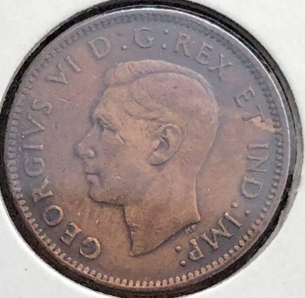 CANADA - 1 Cent 1947 - Bl 7