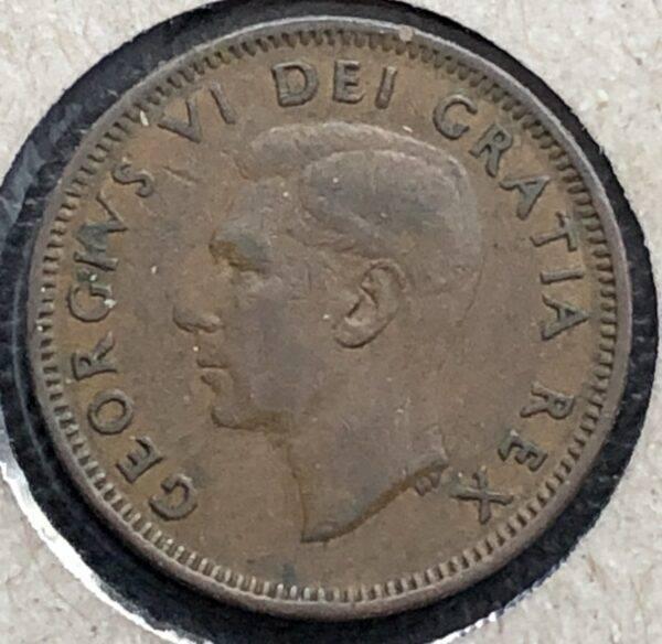 CANADA - 1 Cent 1950