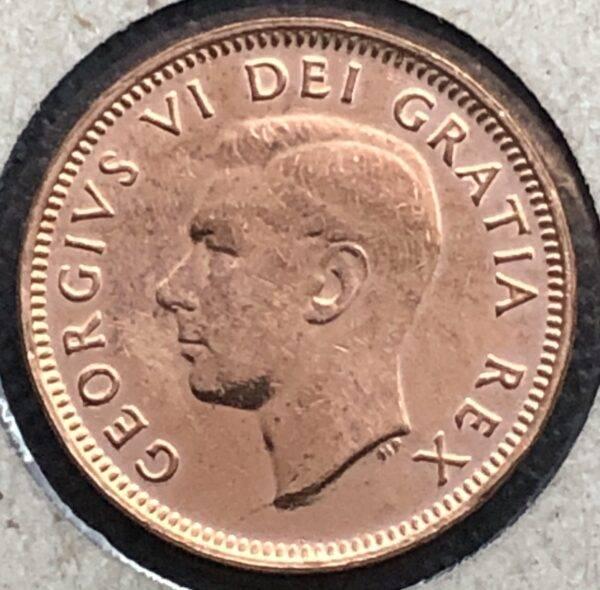 CANADA - 1 Cent 1951