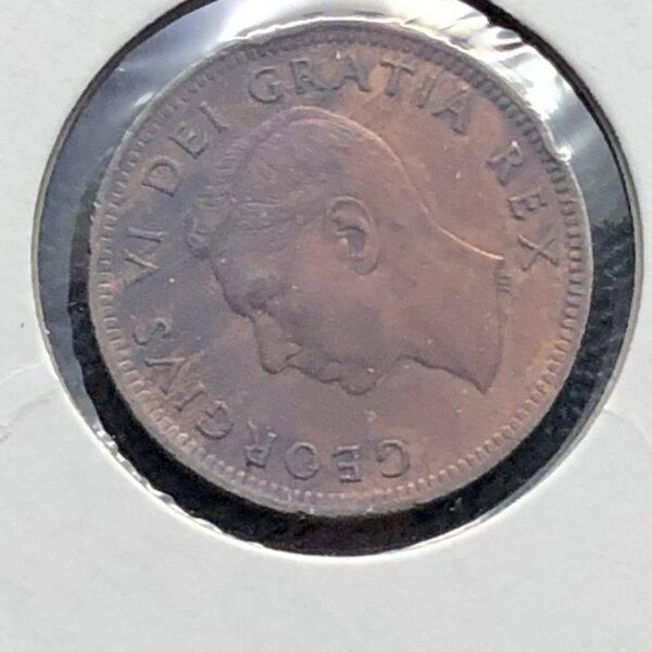 CANADA - 1 Cent 1952