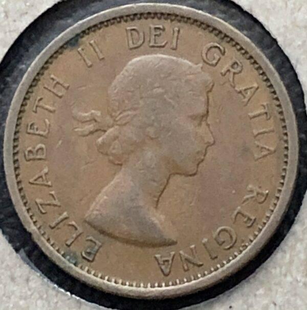 CANADA - 1 Cent 1955 - SF