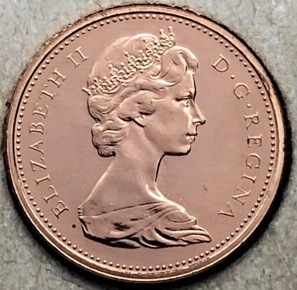CANADA - 1 Cent 1969