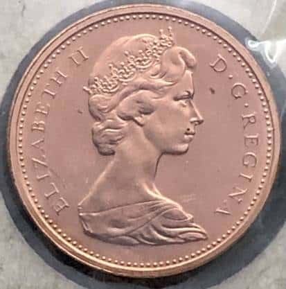 CANADA - 1 Cent 1973