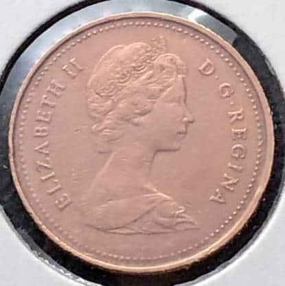 CANADA - 1 Cent 1981