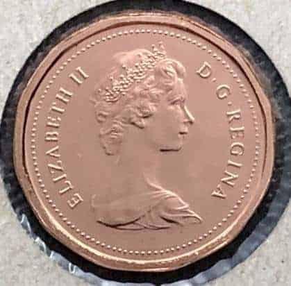 CANADA - 1 Cent 1982