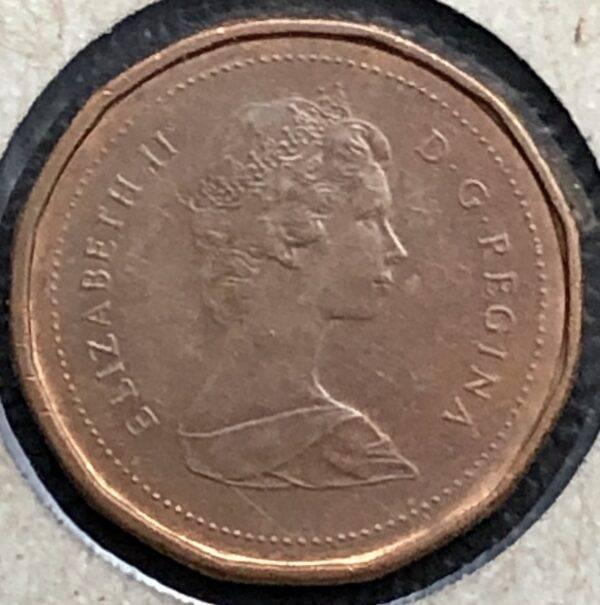 CANADA - 1 Cent 1983