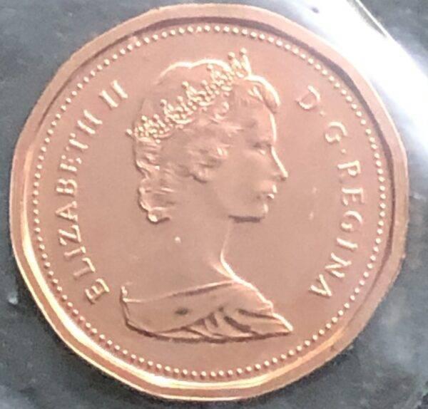 CANADA - 1 Cent 1984