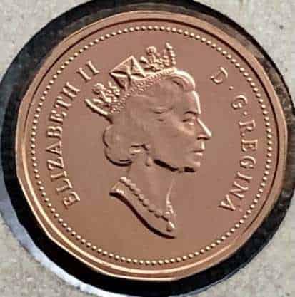 CANADA - 1 Cent 1991
