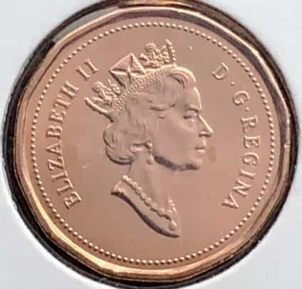 CANADA - 1 Cent 1993