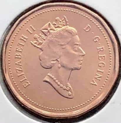 CANADA - 1 Cent 1994