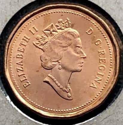 CANADA - 1 Cent 1996