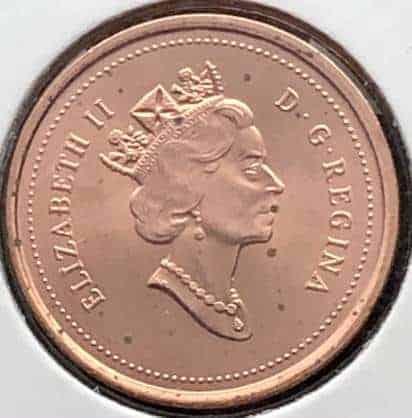 CANADA - 1 Cent 1997