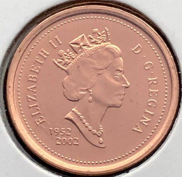 CANADA - 1 Cent 2002 - B.UNC