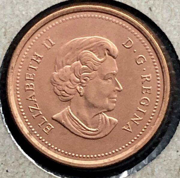 CANADA - 1 Cent 2005 - Non-Magnétique - B.UNC